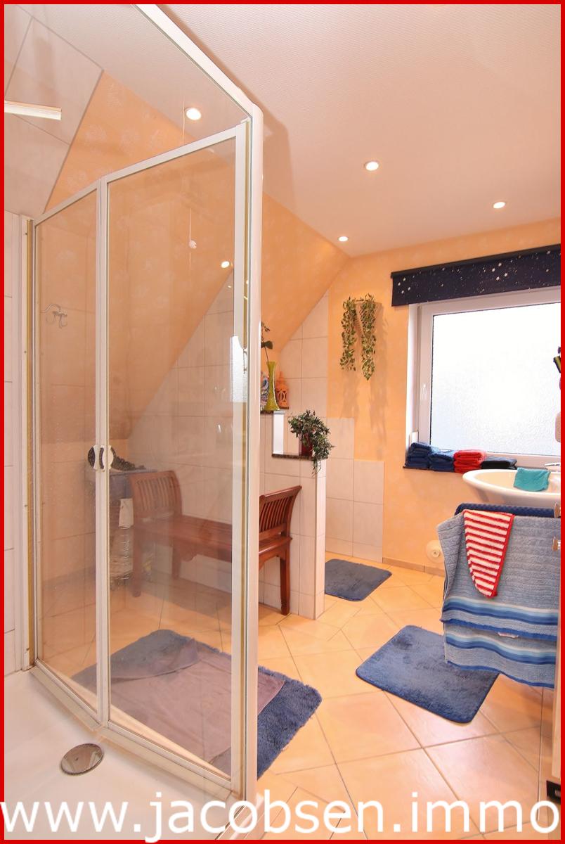 Duschbad im Dachgeschoss.
