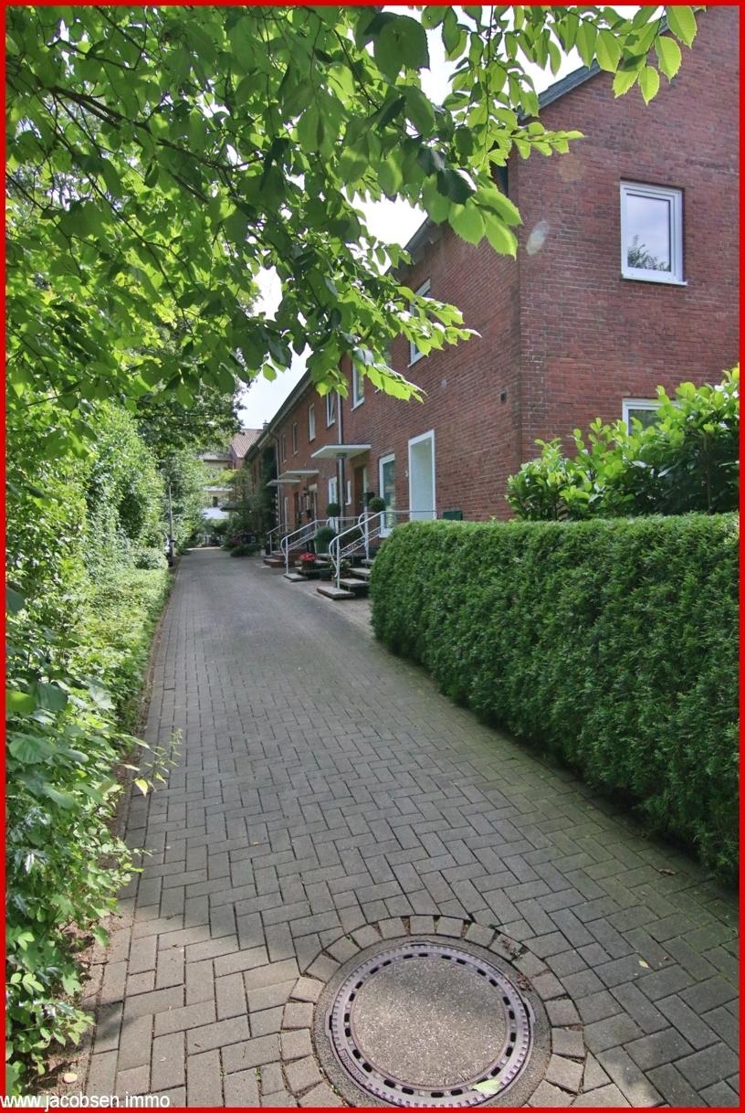 Weg zur Haustür