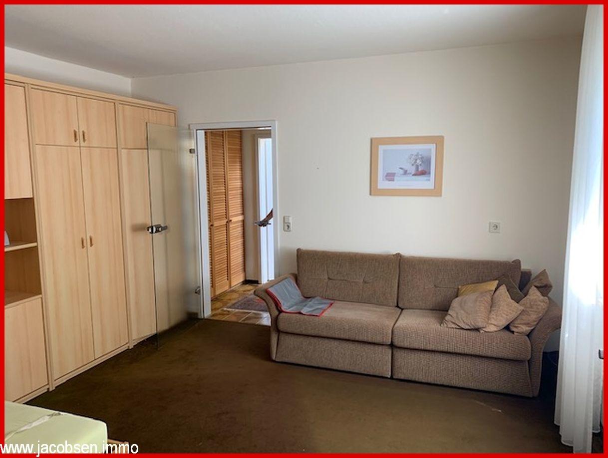 Gästezimmer im Erdgeschoss/Souterrain