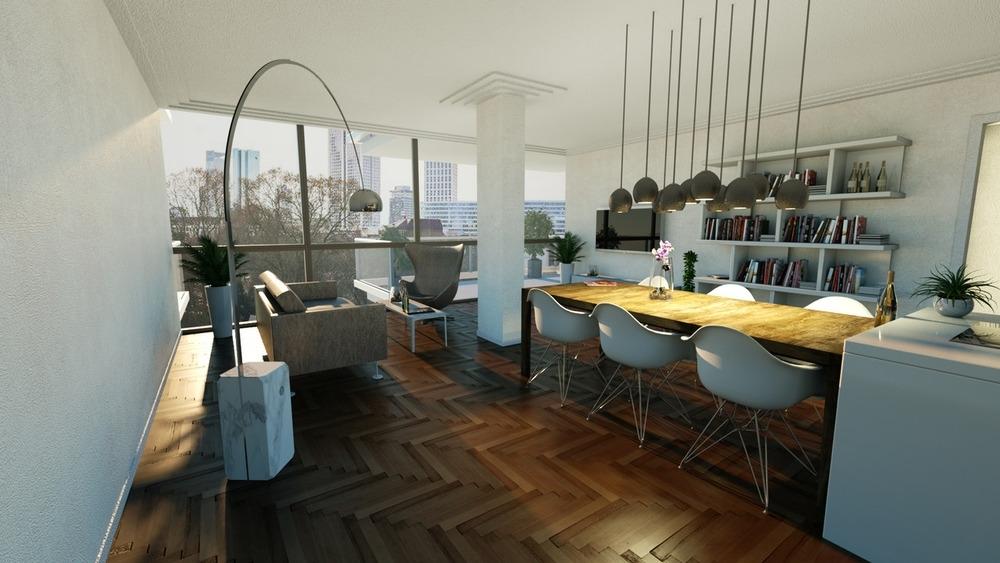 Raum 1  - Wohnung A