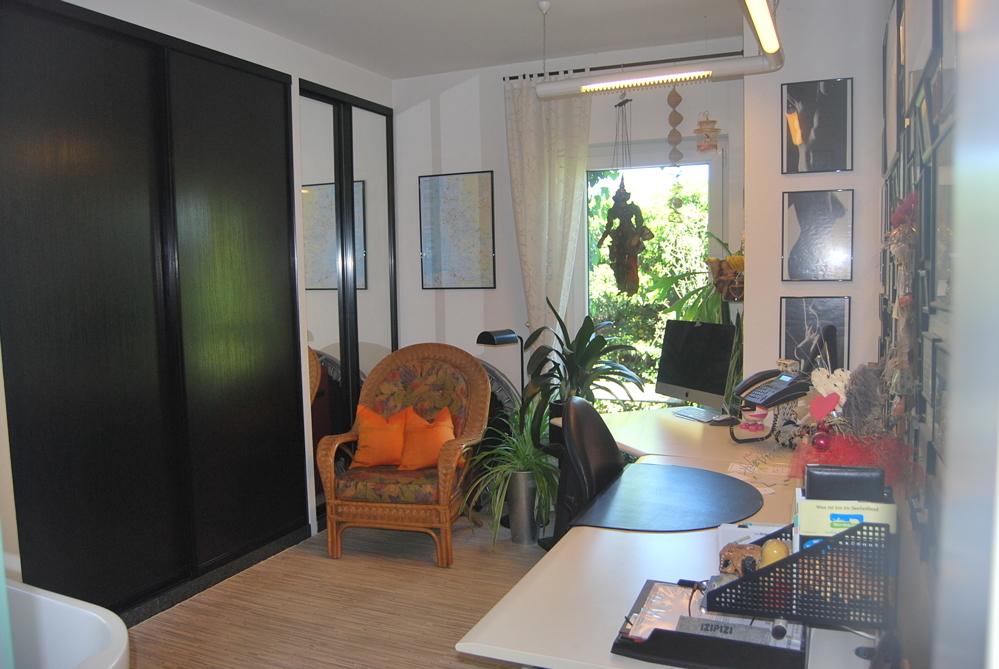 Büro mit Wellness