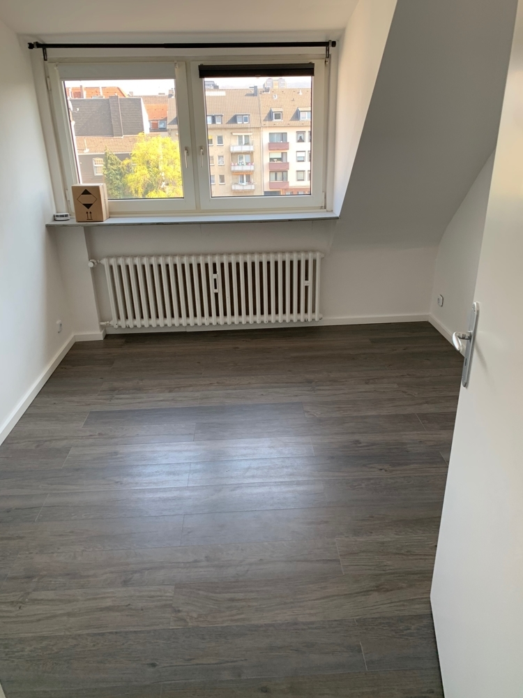 Büro ohne Möbel