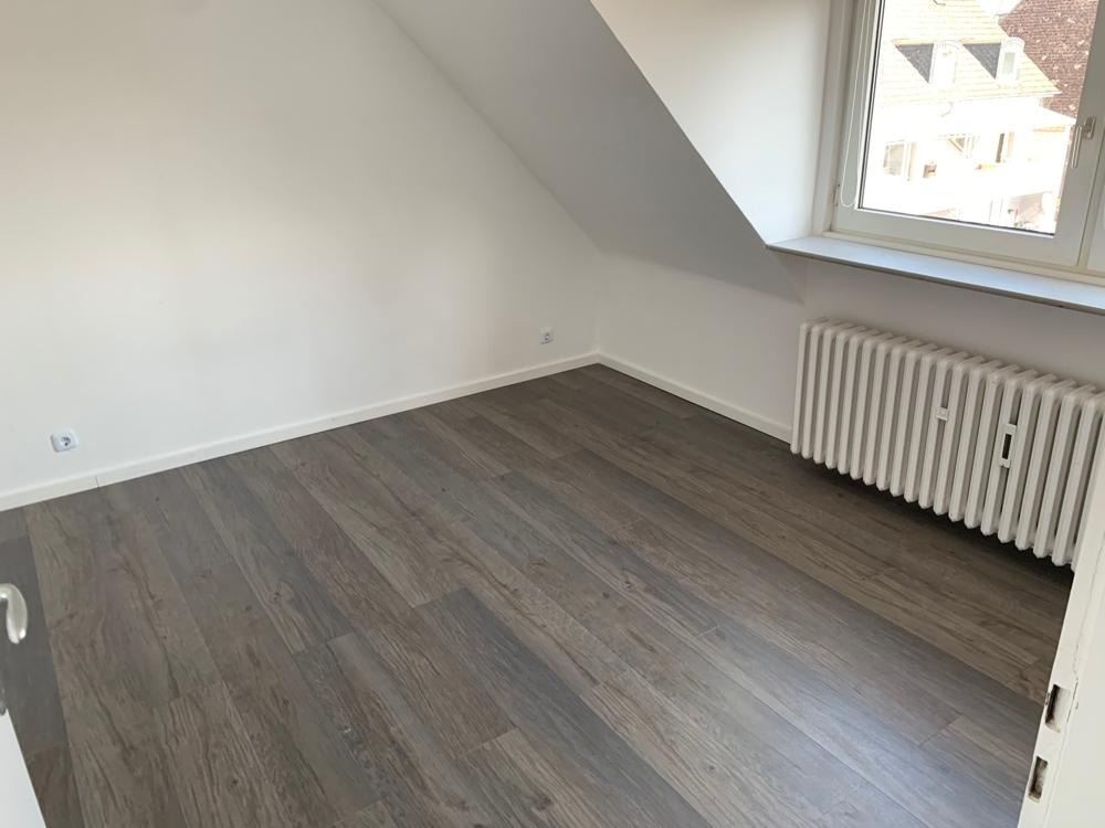 Schlafzimmer ohne Möbel