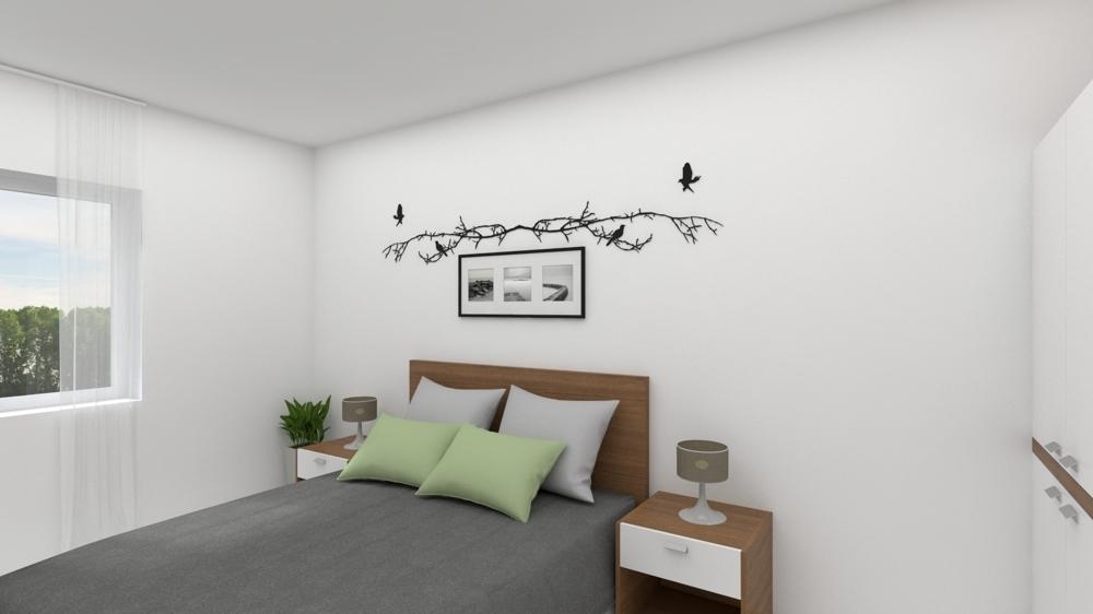 Schlafzimmer Modelbild