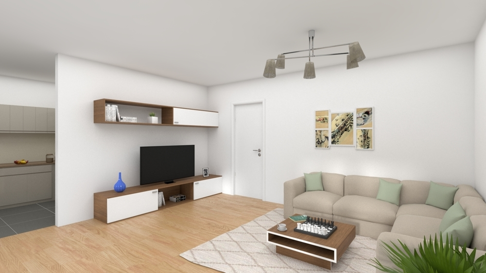 Wohnzimmer Modelbild