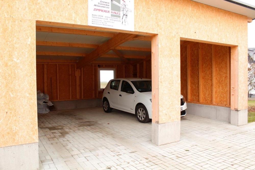 Detailansicht Garagen