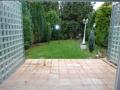 Terrasse - Gartenansicht