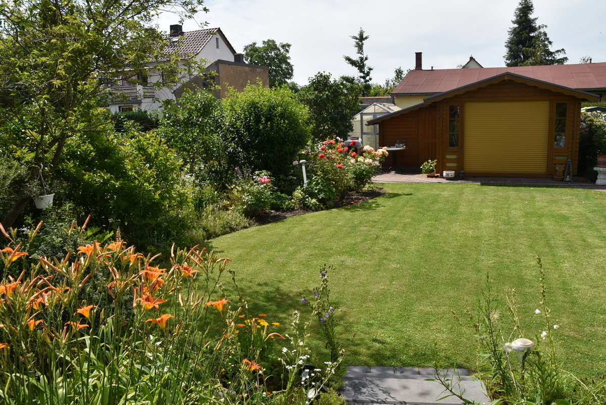 Blick Garten 2