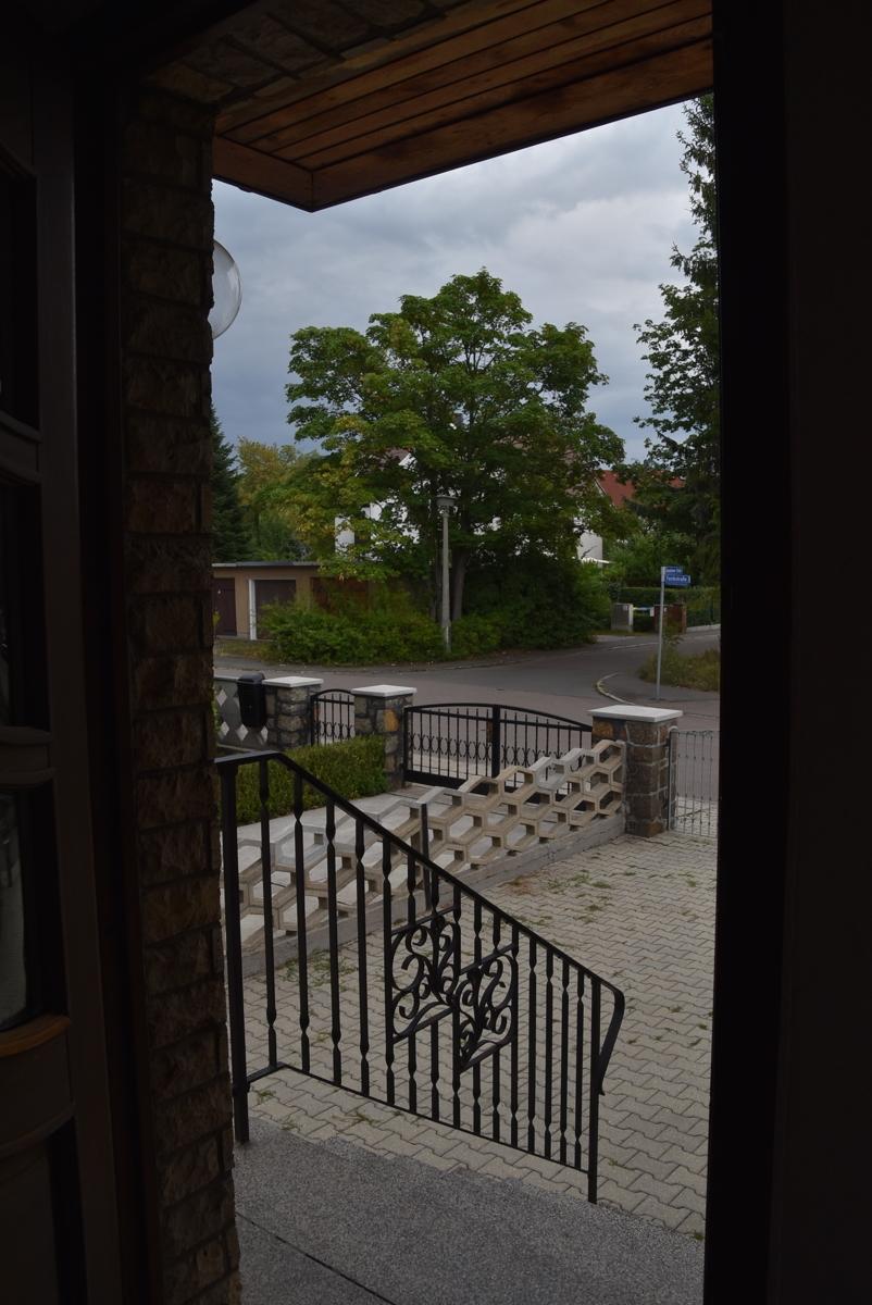 Blick von der Haustür