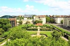 Blick auf den Mierendorffplatz