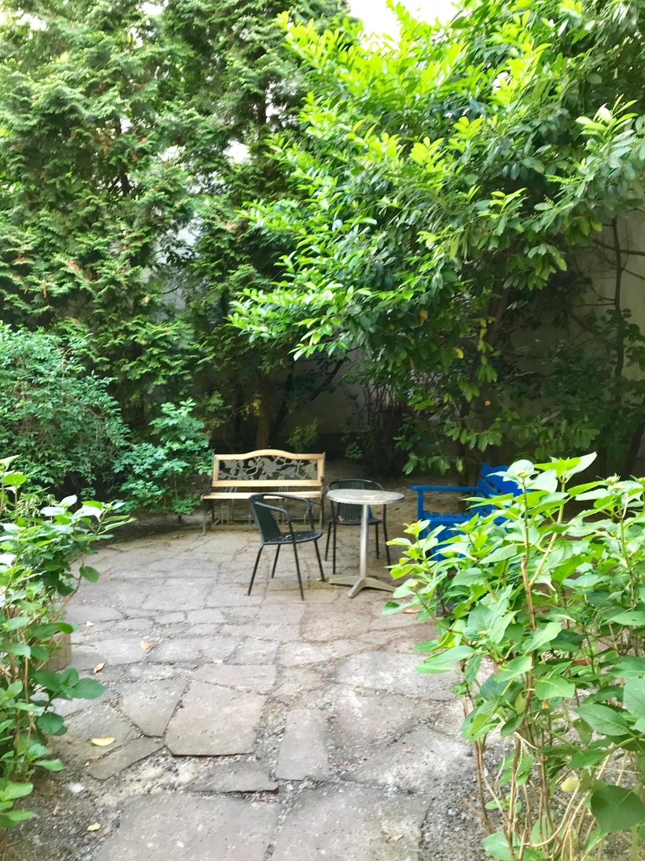der Garten im Hof