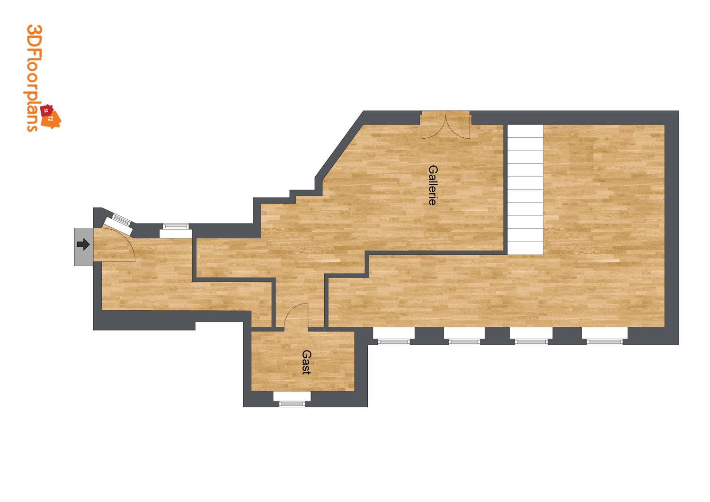 Galerieplan 2. Ebene
