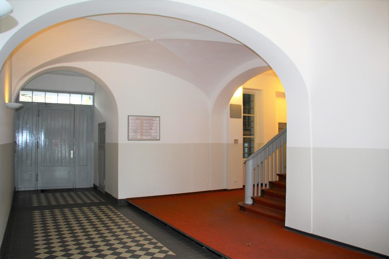 imposanter Eingangsbereich