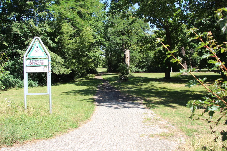 der nahe Park