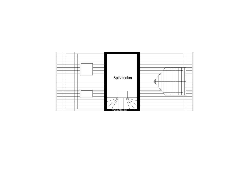 9m² Nutzfläche im Spitzboden