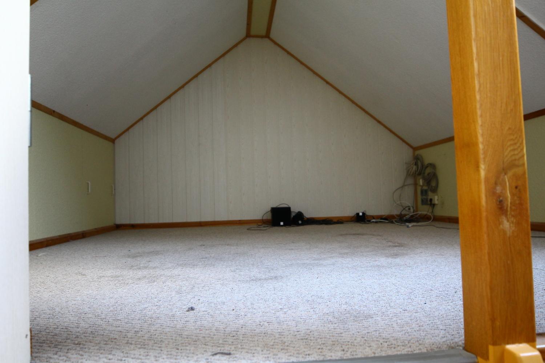 Spitzboden mit 9 m² Nutzfläche