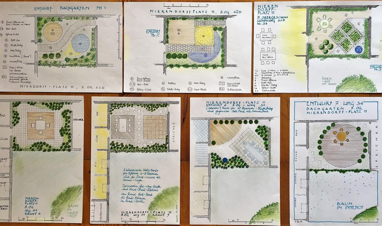 Dachgarten Vorschläge