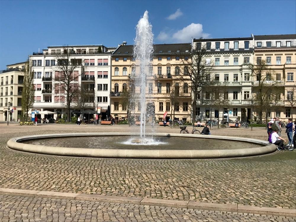 der nahe Luisenplatz