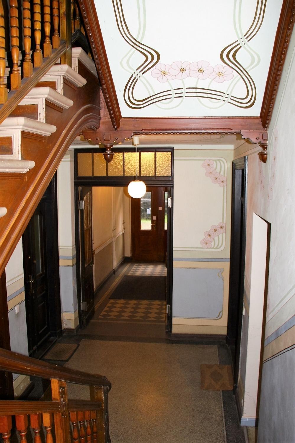 wunderschönes Treppenhaus