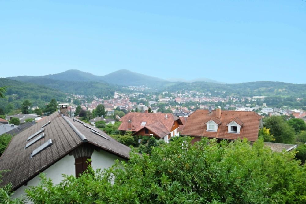 Aussicht über Gernsbach