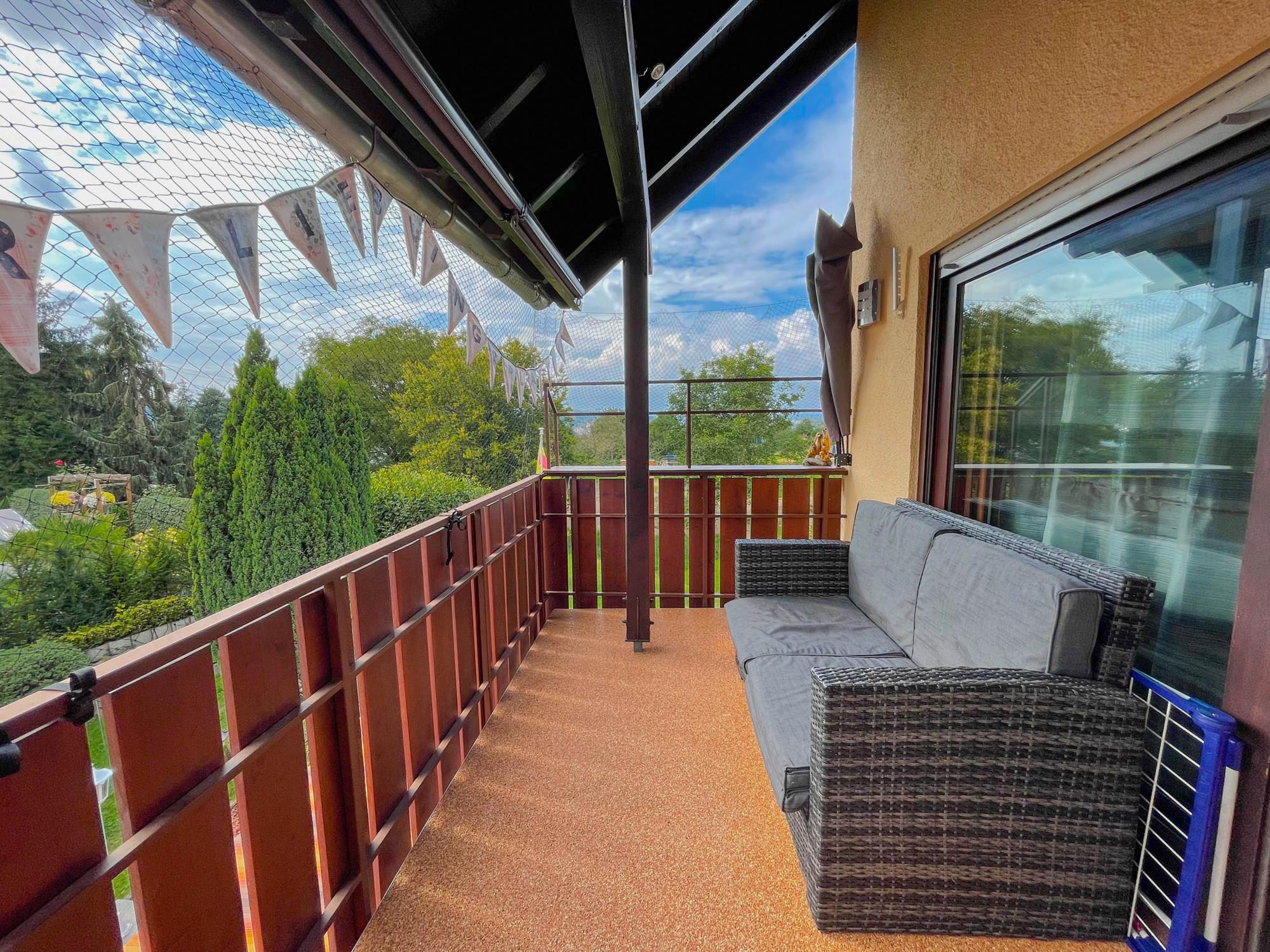 3,5 Zimmerwohnung mit Balkon, modernisiertem Bad und Garage in Gaggenau im Baugebiet Heil
