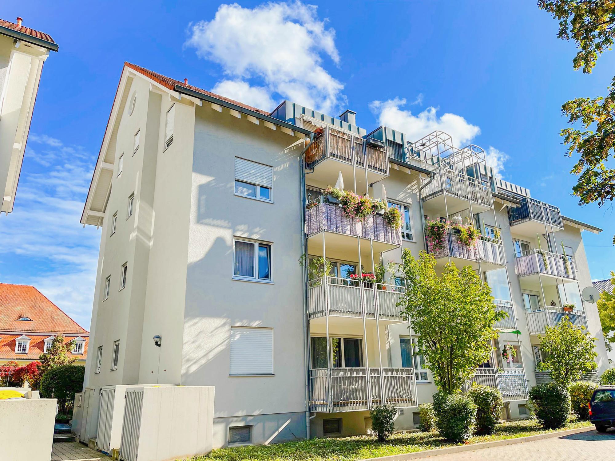 2,5 Zimmerwohnung mit 2 Balkonen und TG-Stellplatz in der Innenstadt von Rastatt