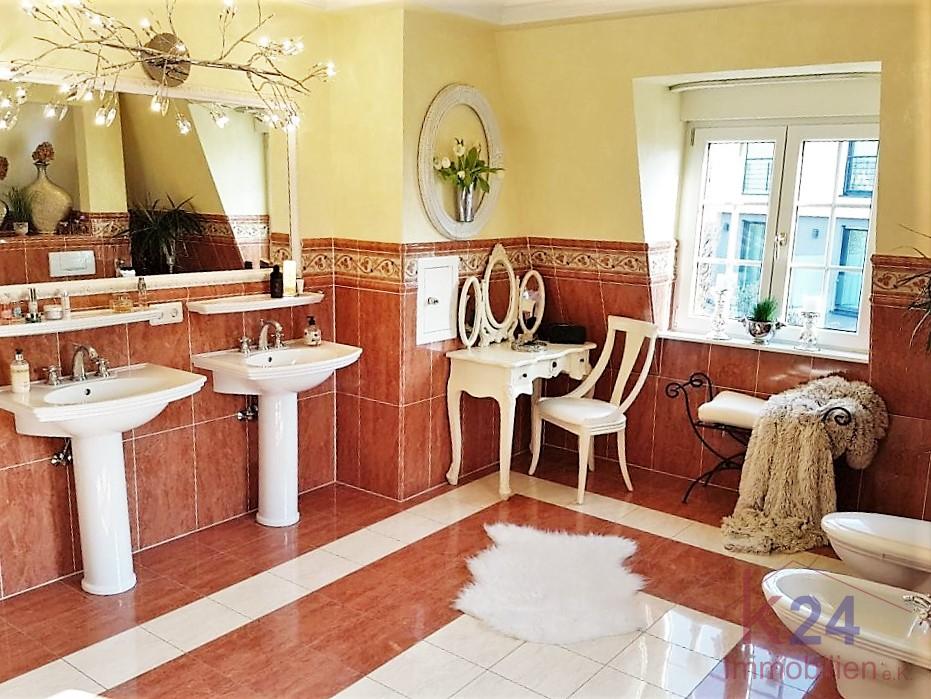 Das luxuriöse Badezimmer