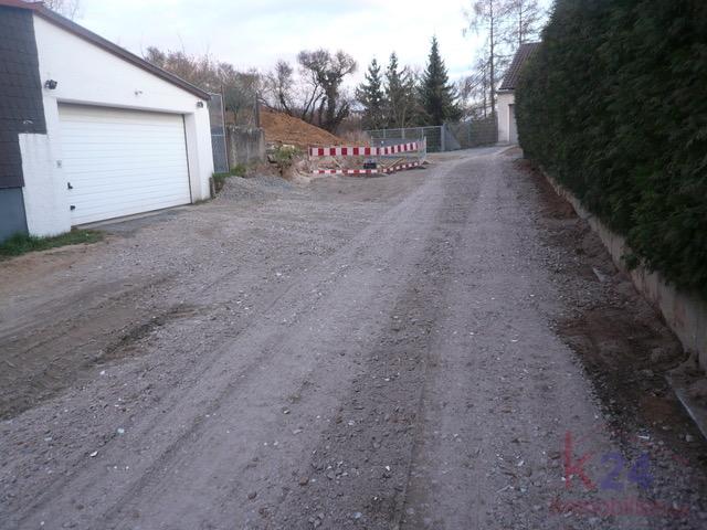 Anfahrt Bauplatz