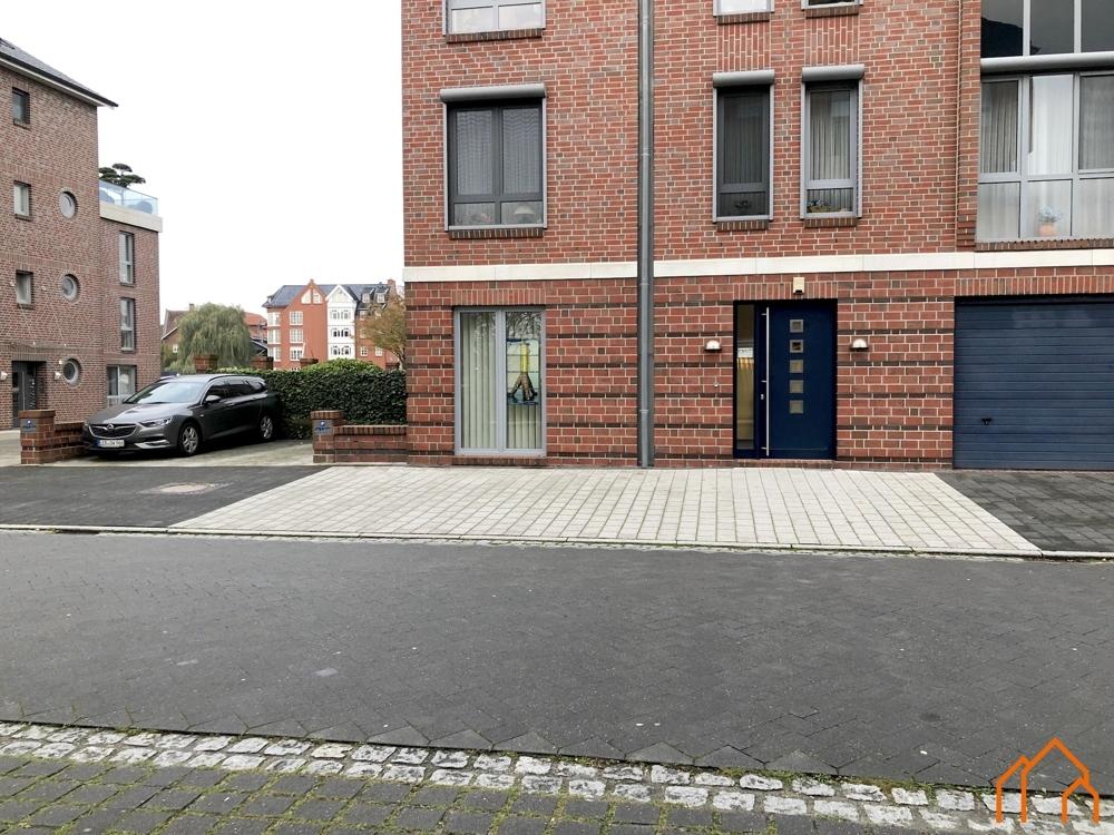 Eingang Straße