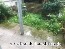 Terrasse mit Minigarten