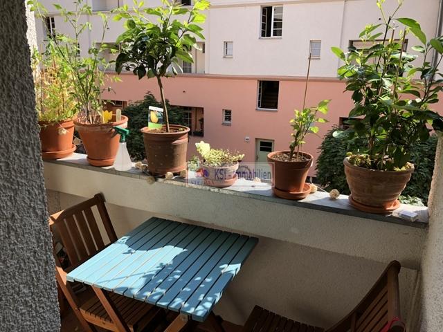 Balkon Connewitz