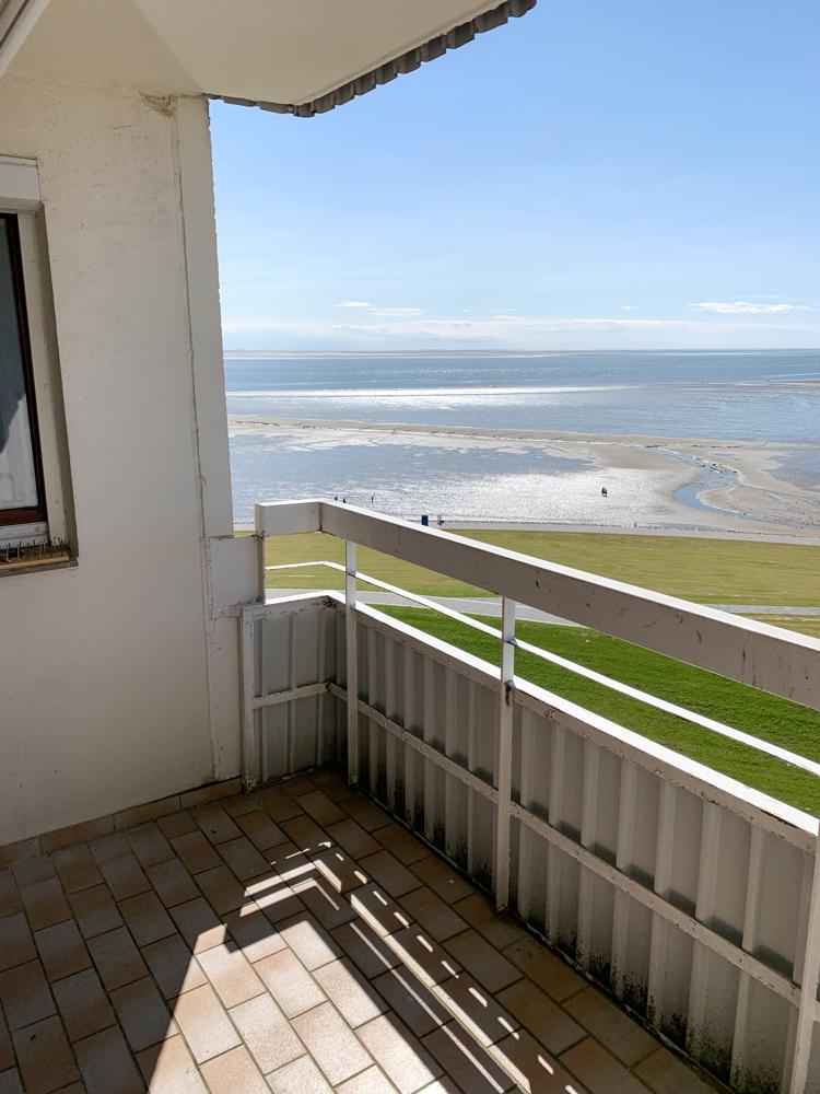Ausblick Balkon