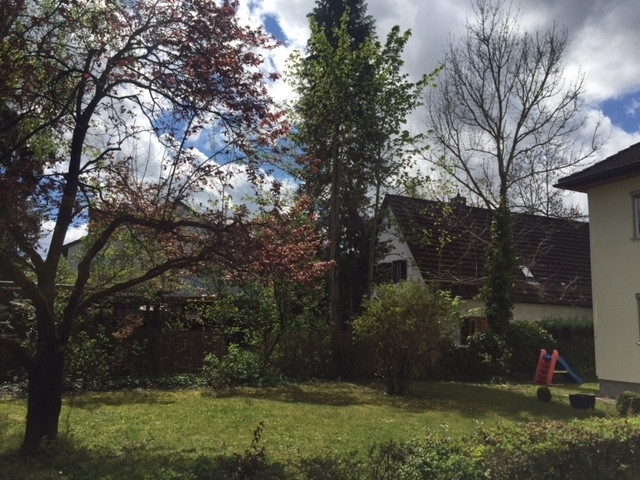 Umgebung mit Garten
