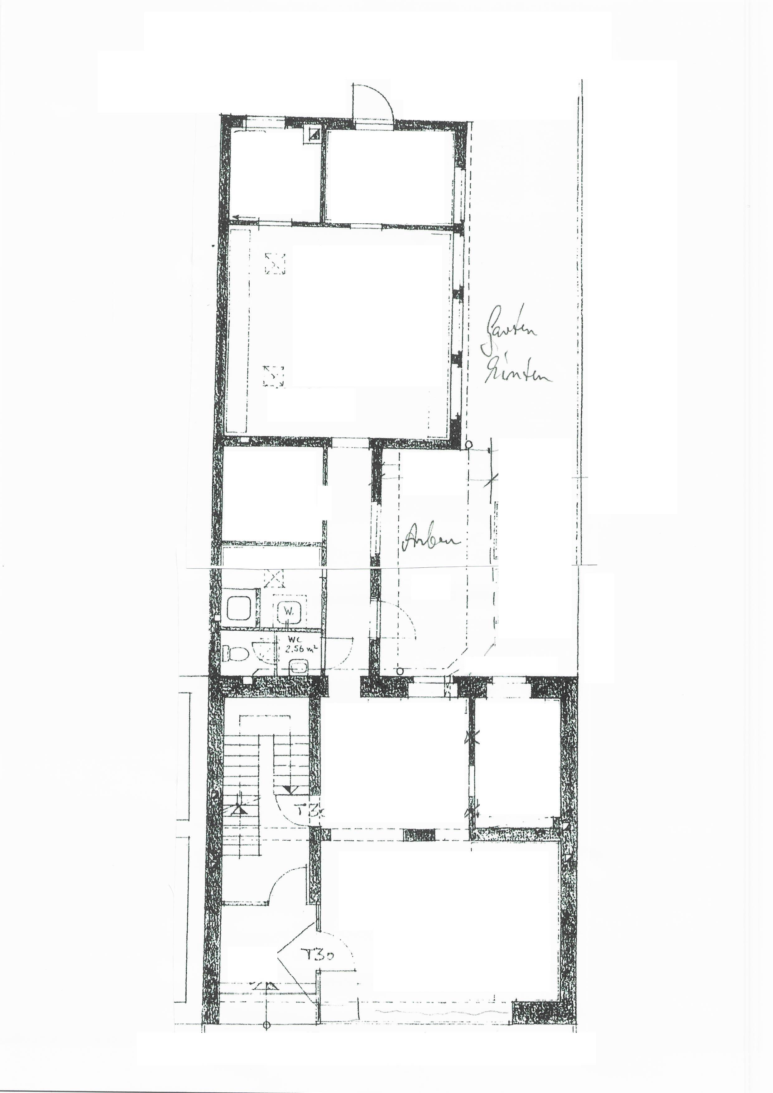 Erdgeschoss Gewerbe