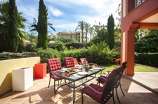 Garten Wohnung zum Verkauf in Bendinat Mallorca