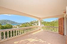 Terrasse mit Meerblick Apartment Puerto de Andratx