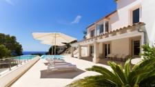 Terrasse Meerblick Villa Port Andratx
