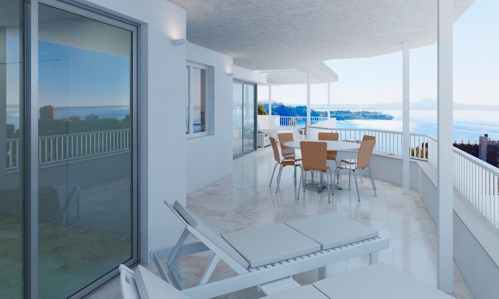Dieses fantastische Penthouseprojekt befindet sich in ruhiger Lage in Cas Catala