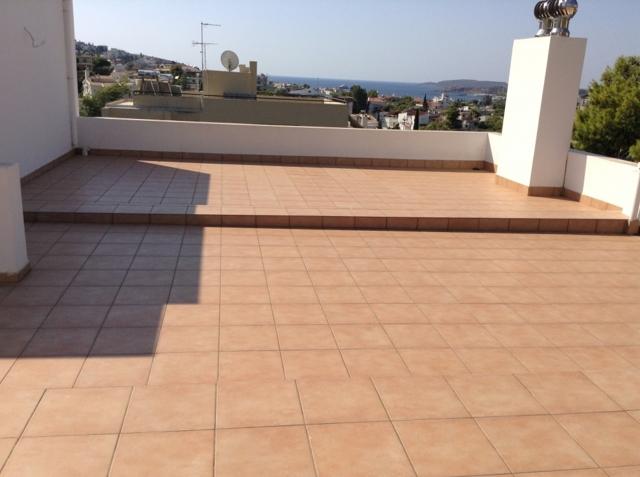 roof garden view
