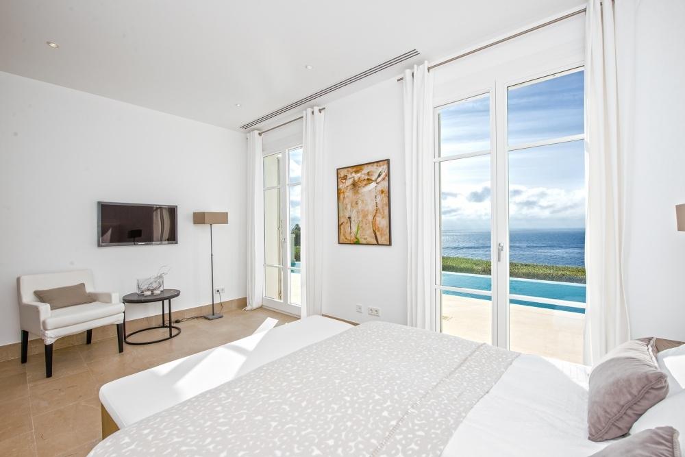 Haupschlafzimmer mit Meerblick Villa Port Andratx