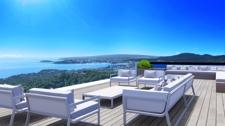 Meerblick Terrasse in Villa in Costa D'en Blanes Mallorca
