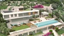 Luxus Meerblick Villa Projekt in Port Andratx