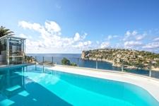 Pool mit Meerblick in Port Andratx