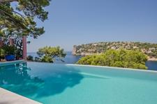 Infinity Pool Villa mit Meerblick Port Andratx