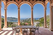 Terrasse mit Meerblick Villa Port Andratx