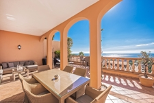Meerblick Villa in Costa den Blanes