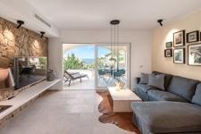 Wohnzimmer mit Meerblick Apartment Port Andratx