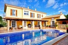 Mediterrane Villa mit privatem Pool in Sol de Mallorca