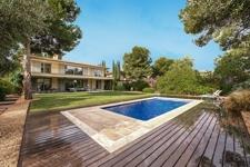 Pool in Villa zum Verkauf Mallorca