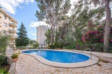 Pool in community Illetas apartment
